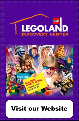 LEGOLAND Discovery Center and SEA LIFE Aquarium