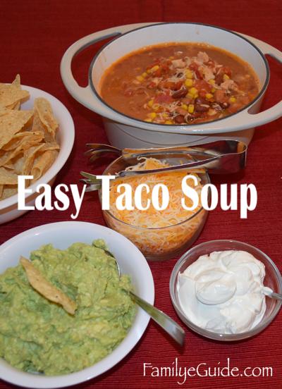 Easy Taco Soup 1