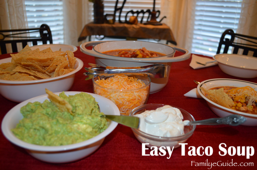 Easy Taco Soup Home Table