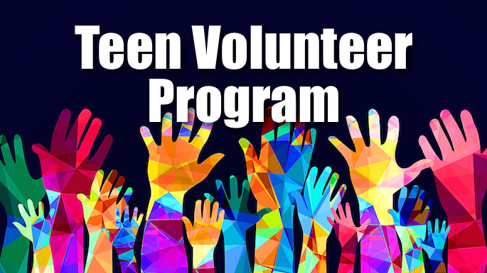 Teen Volunteer Program Banner