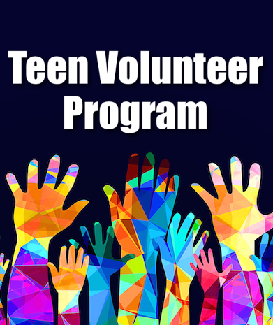 Teen Volunteer Program Pinterest