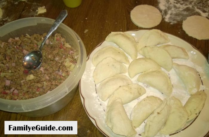 Dumplings Meat and Ready