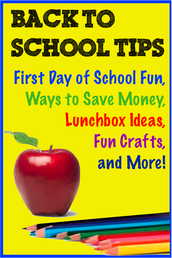 Back to School Tips Tall