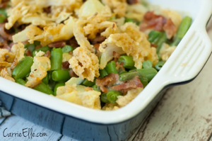 Blogger Recipe Breen Bean Bacon Casserole