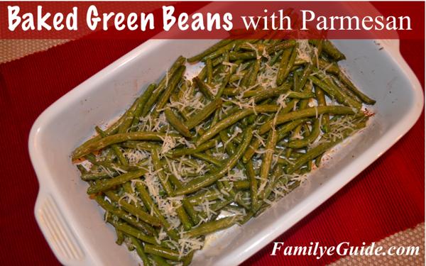 Baked Green Beans Banner