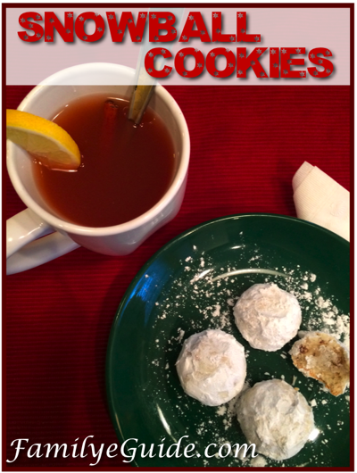 Snowball Cookies Pinterest