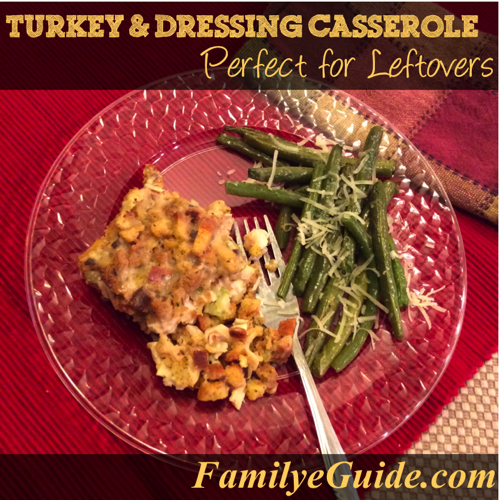 Turkey and Dressing Plate