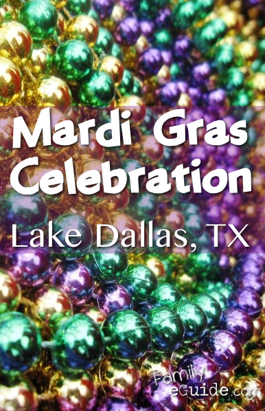 Mardi Gras Lake Dallas Pin
