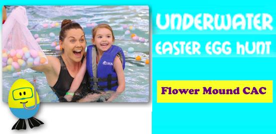Underwater Easter Egg Hunt in Flower Mound