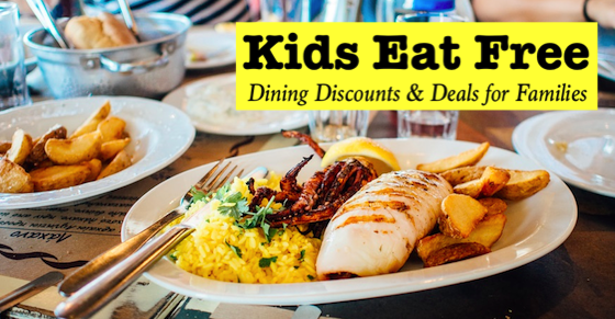 kids eat free banner - Kids Images Free