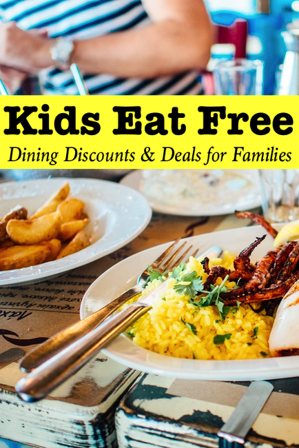 Kids Eat Free Pin