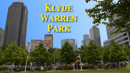 Klyde Warren Park Dallas