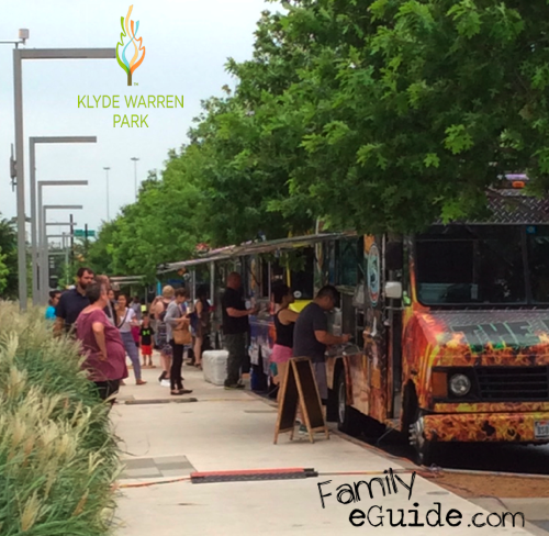 Klyde Warren Park Food Trucks
