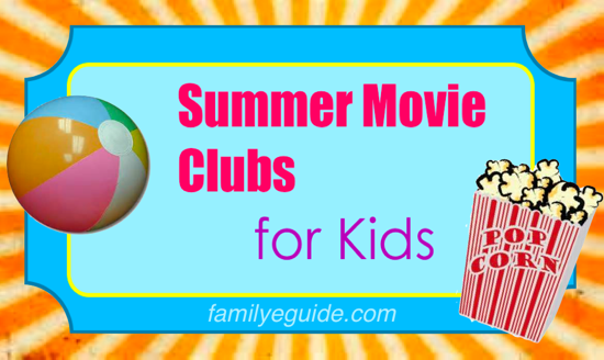 Summer Movie Clubs Banner