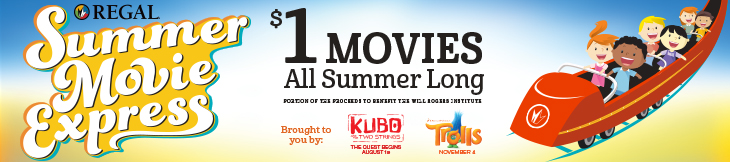 Summer Movie Clubs Regal Banner