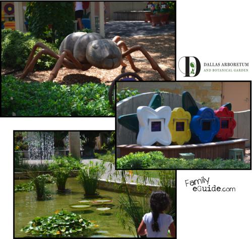 Dallas Arboretum Childrens Garden Activities Family Eguide