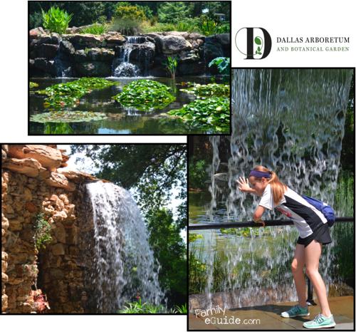 Dallas Arboretum Falls