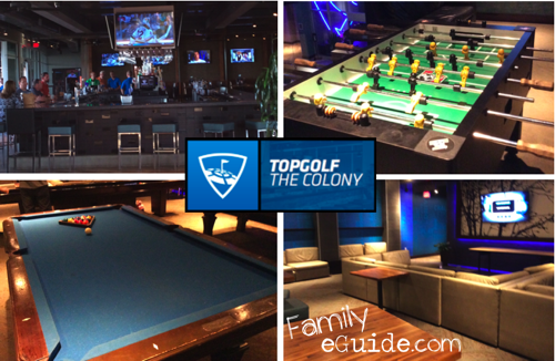 TopGolf Other Games