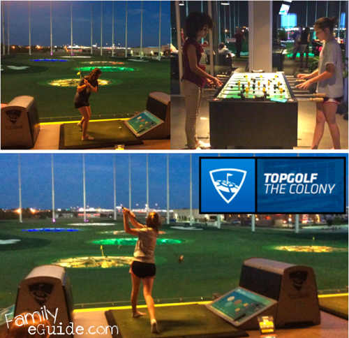 TopGolf Playing