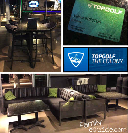 TopGolf Seating