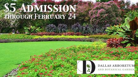 Dallas Arboretum Discount