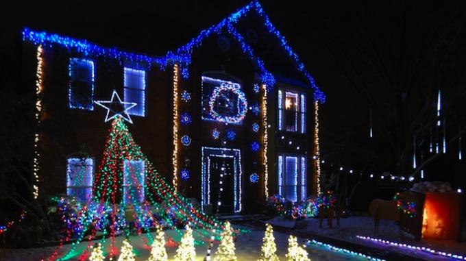 Interlochen Christmas Lights