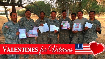 Valentines for Veterans