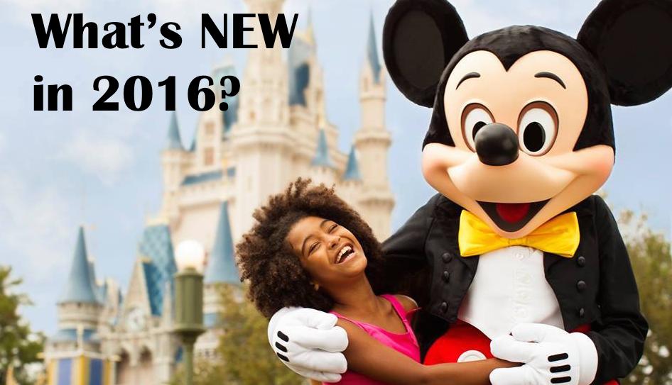 New at Disney in 2016