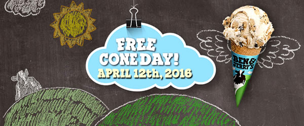 Free Cone Day Ben Jerrys