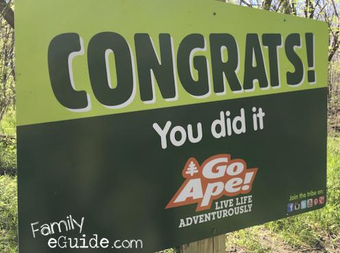 GoApe Congrats