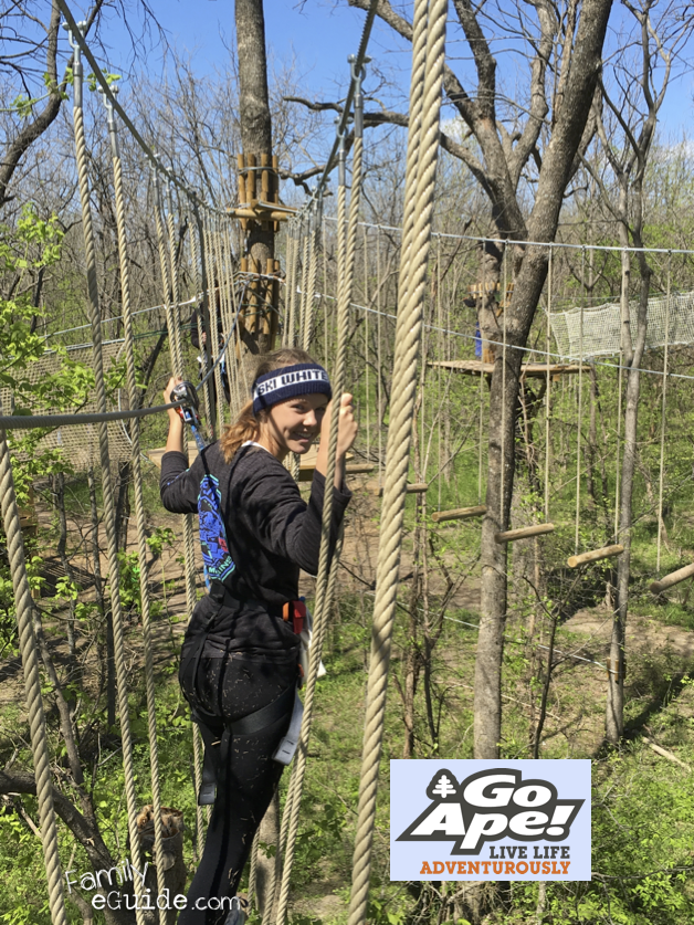 Go Ape Adventure Course Plano Zip Line
