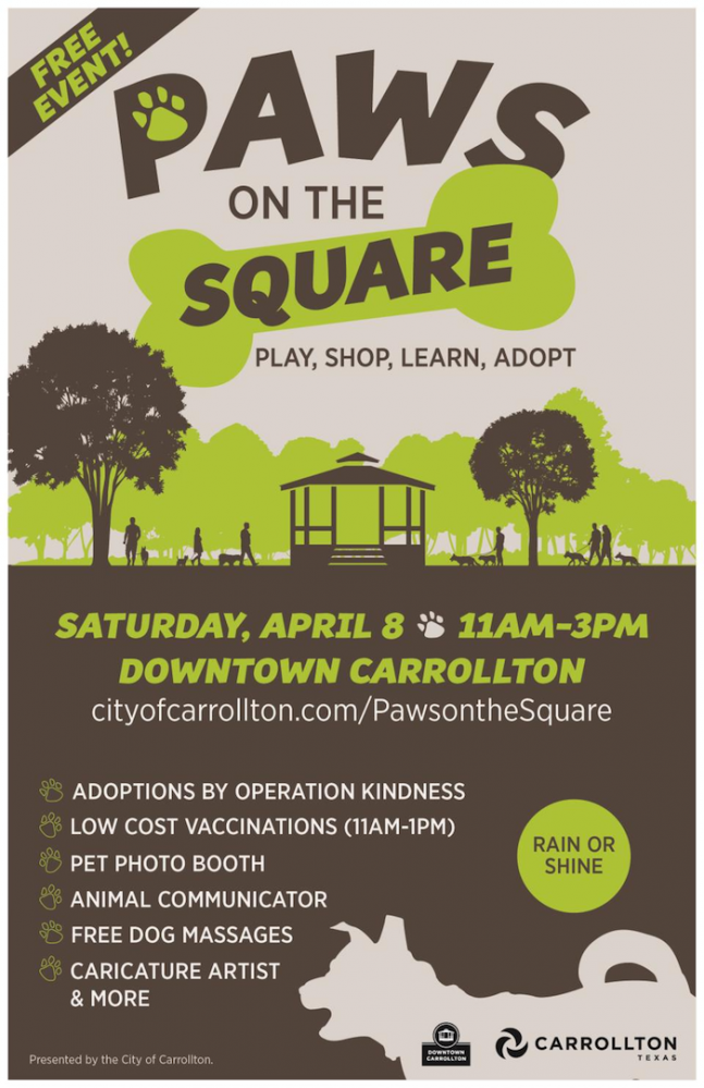 Paws On The Square Carrollton