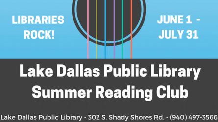 Summer Reading Club Lake Dallas Library