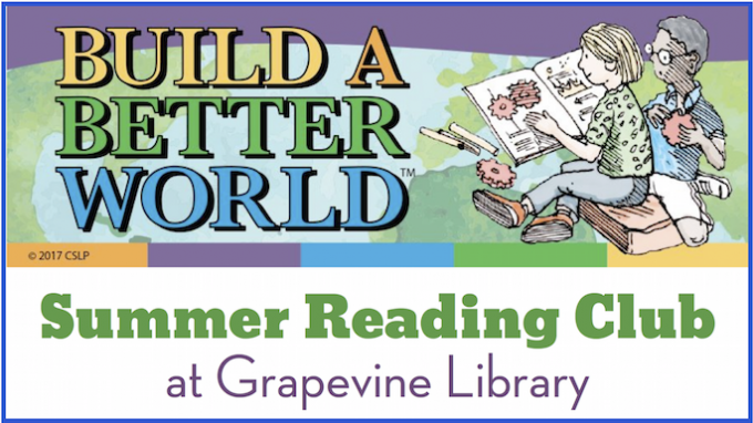 Special Activity at Grapevine Library @ Grapevine Library