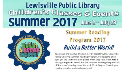 Lewisville Summer Reading Club