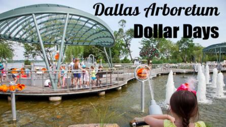 Dallas Arboretum Dollar Days