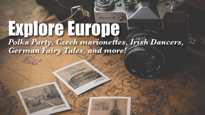 Explore Europe @ Grapevine Library