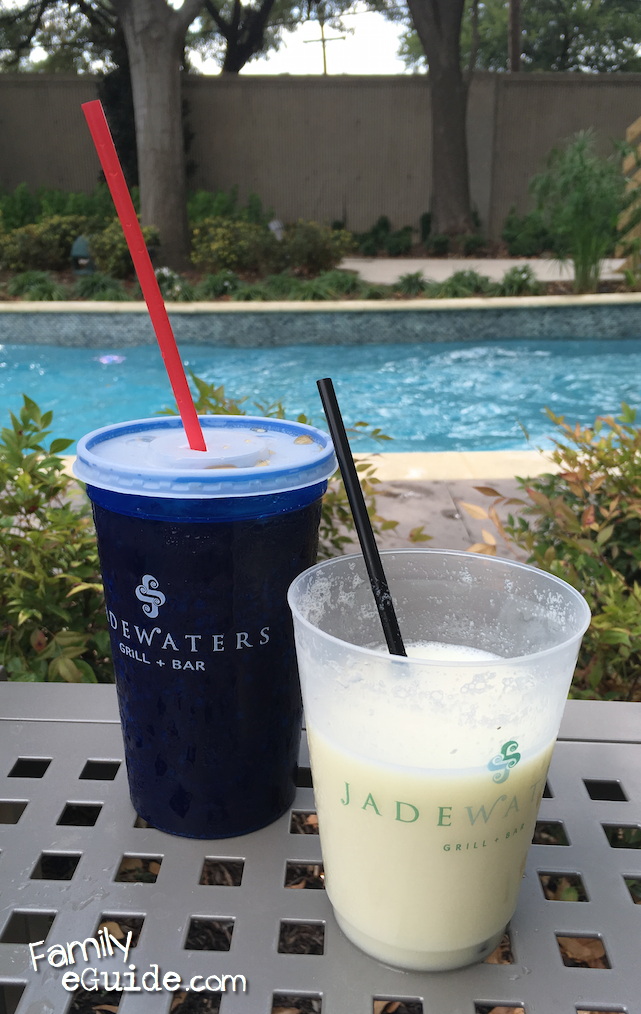 Anatole Poolside Drinks