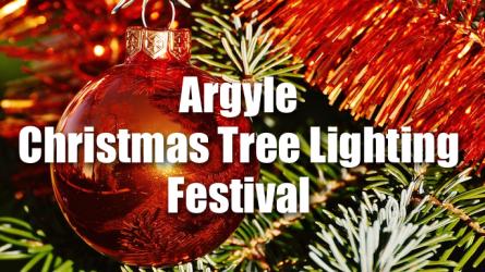 Argyle Christmas Tree Lighting