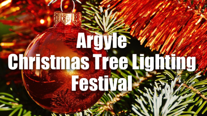 Argyle Christmas Tree Lighting