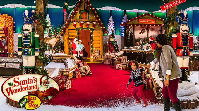 Santas Wonderland at Bass Pro Grapevine @ Bass Pro Shop