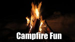 Campfire at the Cabin @ Lake Park