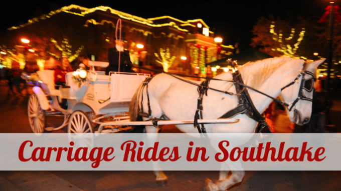 Carriage Rides in Southlake @ Southlake Town Square