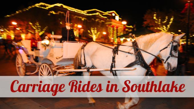 Carriage Rides in Southlake @ Southlake Town Square