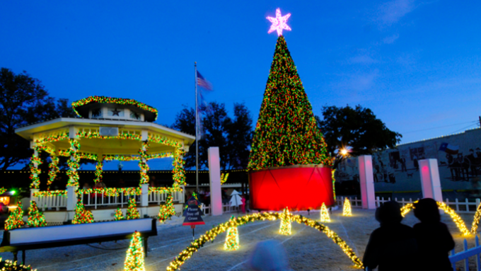 Light Show Spectacular in Grapevine @ Historic Grapevine