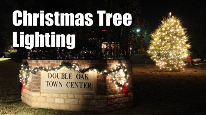 Christmas Tree Lighting Double Oak