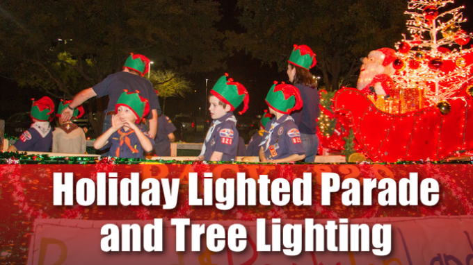 Coppell Lighted Parade and Tree Lighting