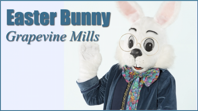 Easter Bunny at Grapevine Mills @ Grapevine Mills Mall