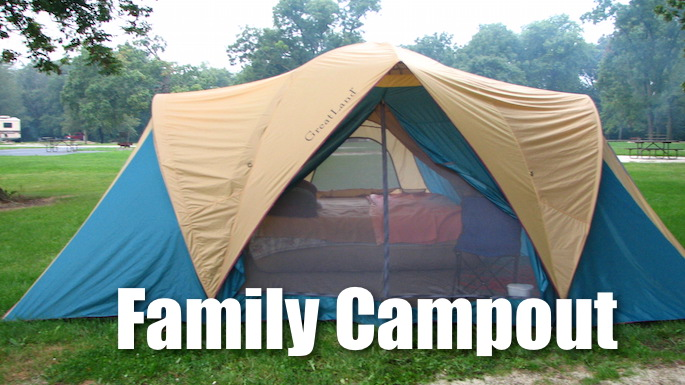 Family Campout Highland Village