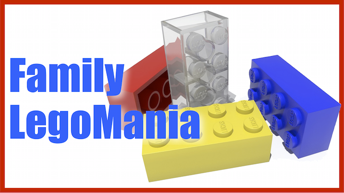 Family Legomania Banner